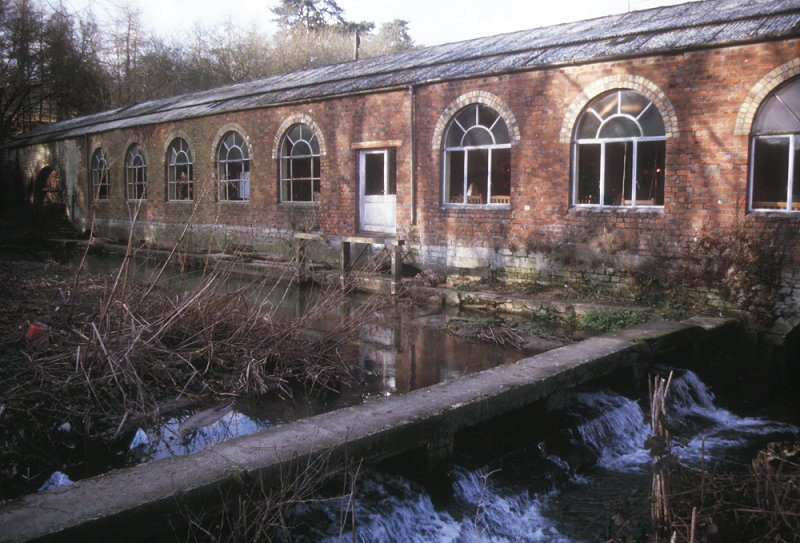 Rooksmoor Mill in the year 2000